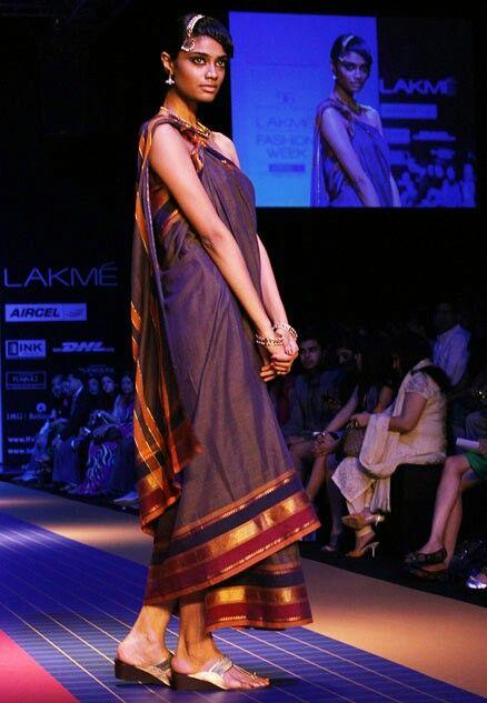 Ilkal Saree Common Feminine Wear In India Tikli