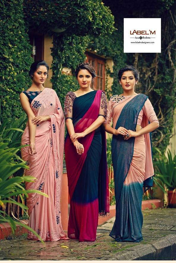 Jump into Style with Monsoon Saree Collection 2017 by ...