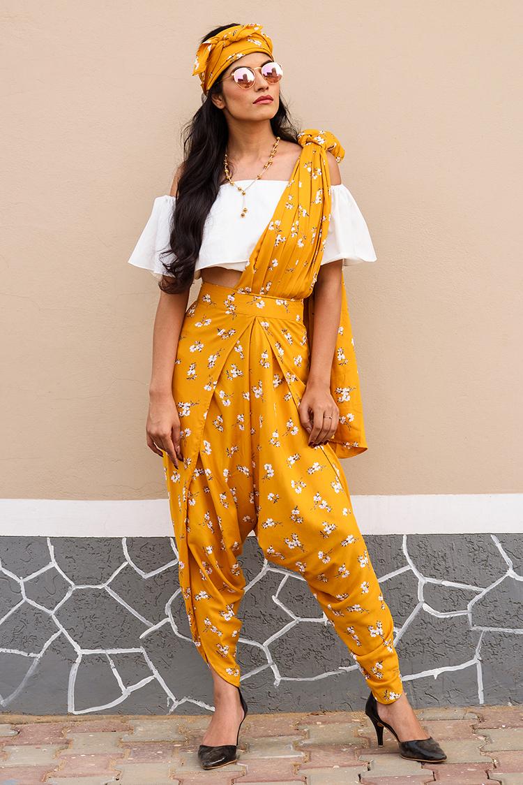 Dhoti Saree Pants