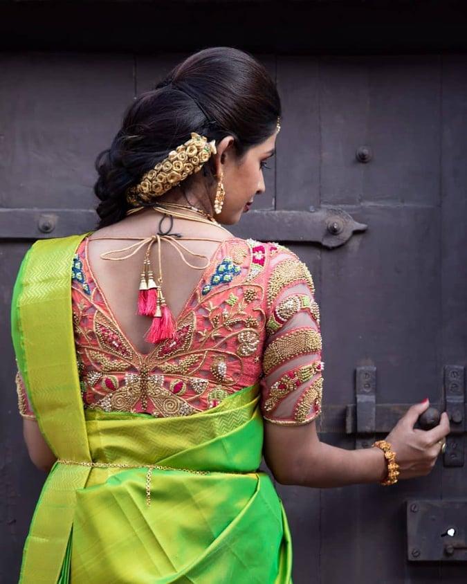 50 Latest Trending Silk Saree Blouse Designs 2020 Update