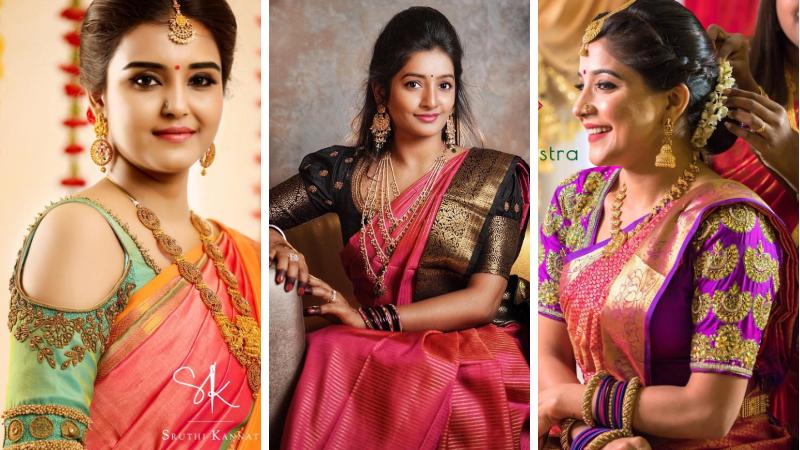 aa996f021dcf9 20 Latest Trending Silk Saree Blouse Design - 2019 Update