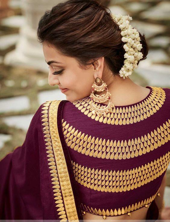 blouse design for back neck