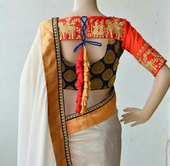 latest blouse design for back