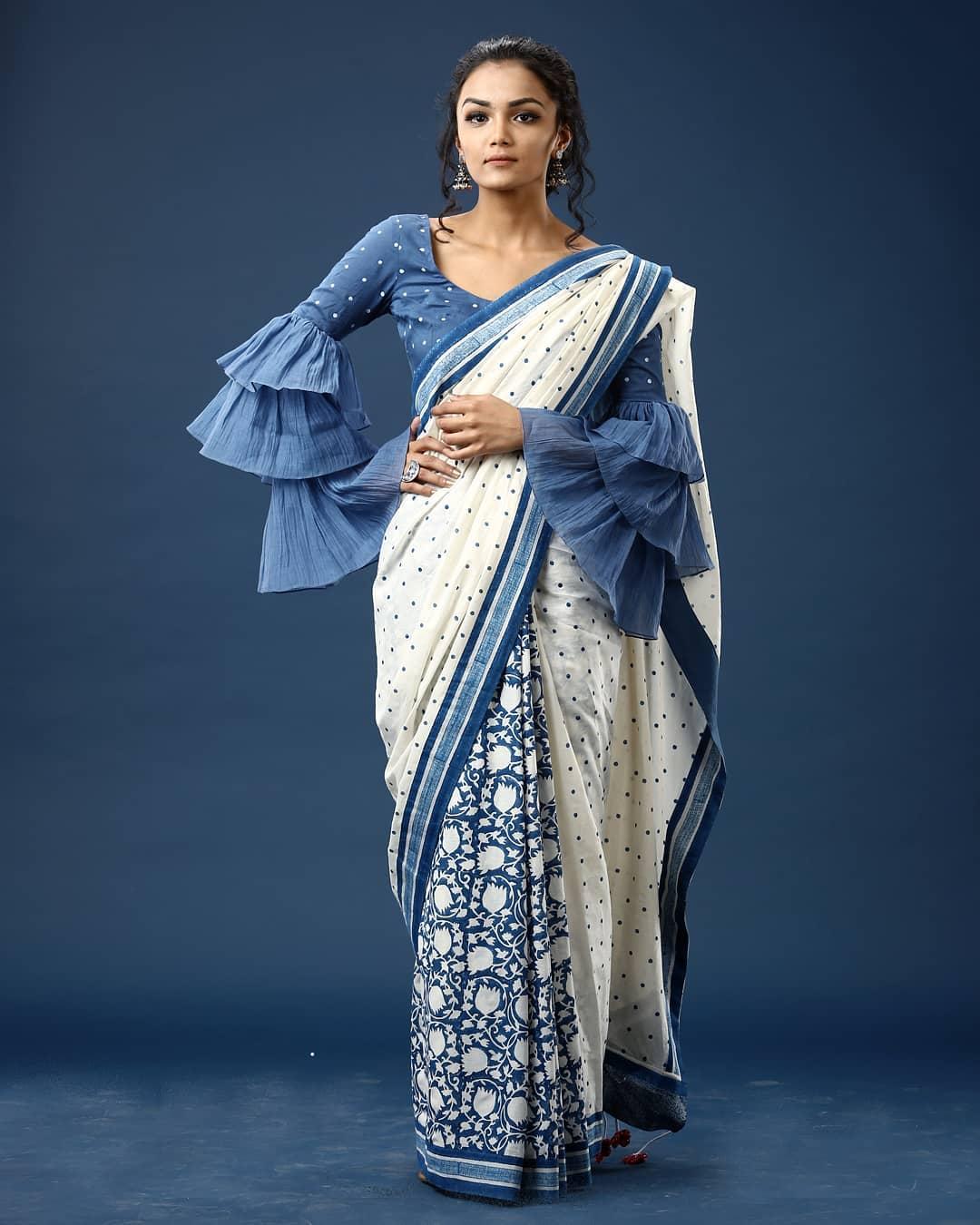 Cotton Saree - Ekmit