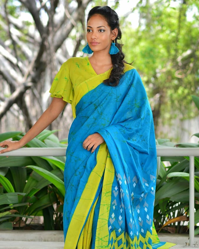Check Out Most Stylish Blouse Designs For Cotton Saree