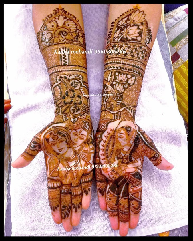 35+ Trendy and Beautiful Bridal Mehndi Designs - Tikli