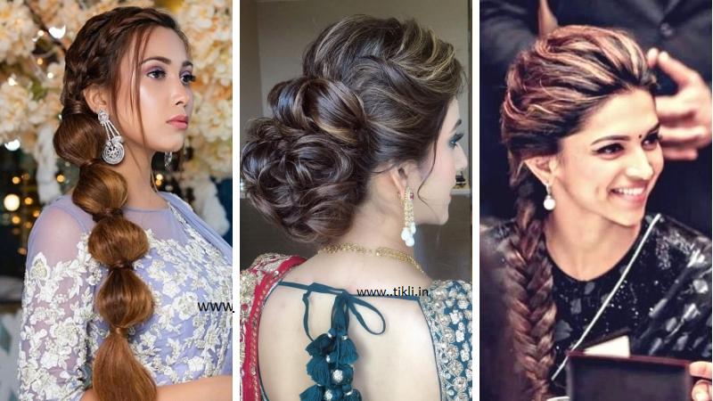 21 Stylish And Beautiful Indian Hairstyle For Saree Tikli