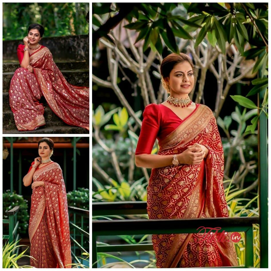 Celebrity Poses In Saree For Photography Ideas Tikli Blue she was wrapped in blue. celebrity poses in saree for